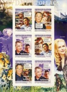 Guinea - Sydney Pollack - 6 Stamp  Sheet  7B-831