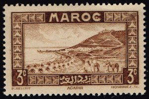 French Morocco #126 Roadstead at Agadir; MNH (5Stars)