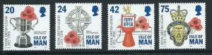Isle of Man MUH SG 708 - 711
