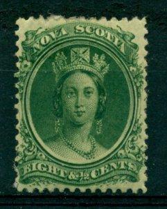 Nova Scotia 1860 #11 MH SCV (2020) = $15.00