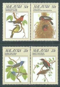 MALAYSIA 1988 Birds set MNH................................................64182