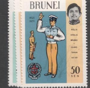Brunei SG 181-3 Great Stamps Not Great Picture MNH (1dfg)