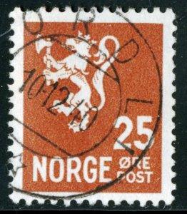 NORWAY #197, USED - 1940 - NORWAY038NS11