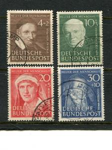 Germany #B320-23  Used VF - Lakeshore Philatelics