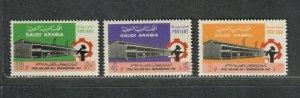 Saudi Arabia Sc#618-620 M/NH/VF, Cv. $27.25