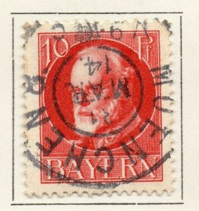 Bayern Bavaria 1914-18 Early Issue Fine Used 10pf. NW-120700