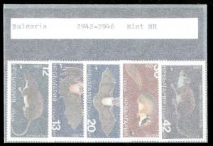 BULGARIA Sc#2942-2947 Complete MINT NEVER HINGED Set