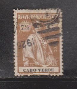 CAPE VERDE Scott # 159 Used - Ceres Type