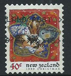 New Zealand SG 2294 VFU perf 9 1/2 ex booklet