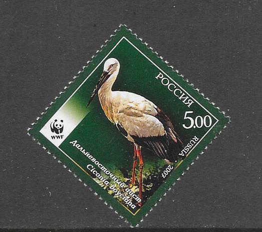 BIRDS - RUSSIA #7046  WWF MNH
