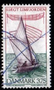 Denmark -  #1053 Skiff - Used