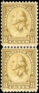 713 Mint,OG,NH... Pair... SCV $8.00