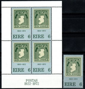 Ireland #326, 326a MNH CV $7.40 (X1332)