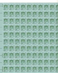 US 1606 - 30¢ Morris Township Unused
