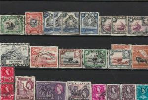 kenya uganda tanganyika early  stamps ref r9333