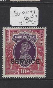INDIA  NABHA   (P0308BB)  KGVI     10 R   SERVICE SG O 141        MOG