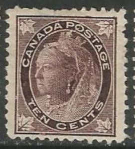 Canada Scott #73 Stamp - Cat $500 - Mint Single