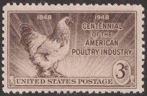 USA stamp, Scott# 968, MNH, Poultry, #ZA30