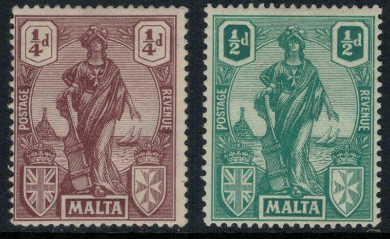 Malta #98-9*  CV $6.00