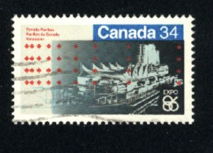 Can #1078   -2  used VF 1986 PD