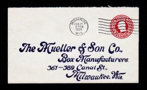 SCOTT #U429 POSTAL STATIONARY ⭐ THE MUELLER & SON CO ⭐ MONROE WI 1928