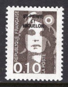 St Pierre and Miquelon 522 MNH VF