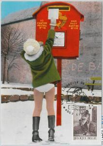 63441 -  BELGIUM - POSTAL HISTORY: MAXIMUM CARD 1971 -  POST SERVICE