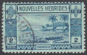 NEW HEBRIDES FRENCH 1938 2f SG F62 fine used cat £48........................G609