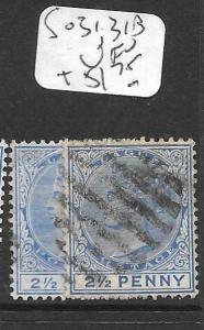 LAGOS   (P1305B) QV  2 1/2D  SG 31, 31B      VFU