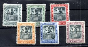 Barbados 1906 Lord Nelson mint MH set to 6d WS16763