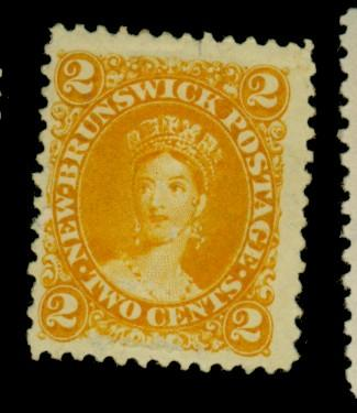 NewBrunswick #7 MINT F-VF OG HR Cat$15