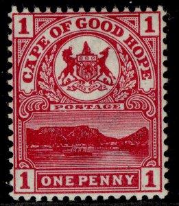 SOUTH AFRICA - Cape of Good Hope QV SG69, 1d carmine, NH MINT.
