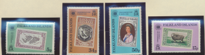 Falkland Islands Stamps Scott #371 To 374, Mint Never Hinged - Free U.S. Ship...
