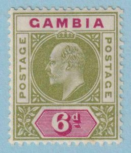 GAMBIA 34  MINT LIGHTLY HINGED OG * NO FAULTS EXTRA FINE !