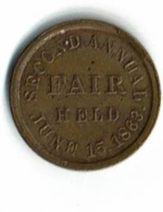 Sanitary Fair Token 1861/1863