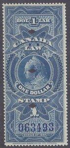 Canada Revenue scott #FSC8 used VF