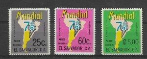 EL SALVADOR  1978 SOCCER WORLD CUP CHAMPIONSHIP ARGENTINA 78 MAPS AND EMBLEM