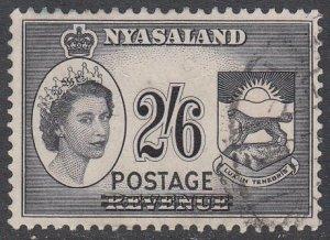 Nyasaland Protectorate 119 Used CV $2.00