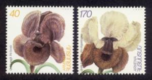 Armenia Sc# 562-3 MNH Iris