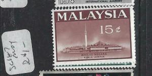 MALAYSIA   (P1404BB)  FLOWERS  SG16-7    MOG