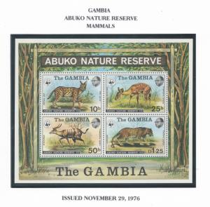 Gambia 341-4a NH