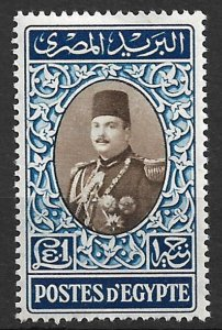COLLECTION LOT OF # 269D EGYPT MH 1950+ CV = $37.50 2 SCAN