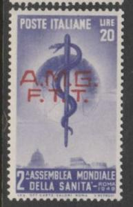 U.S. Scott #Italy Trieste #49 Stamp - Mint Single