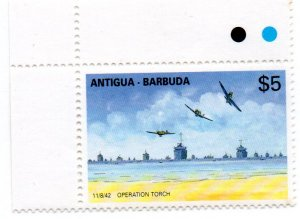 ANTIGUA & BARBUDA 1206 MNH SCV $6.00 BIN $3.60 AIRPLANES