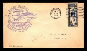 US 1928 FFC CAM 20 Schenectady to Albany - L8439