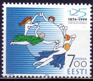 Estonia. 1999. 353. 125 years of UPU. MNH.