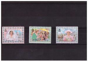 Montserrat 1998 Lady Diana Scott 962-64 MNH