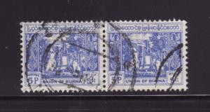 Burma 142 Pair U Bell (B)