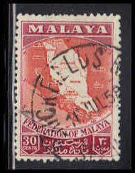 Malaya-Federation Used Fine ZA4372