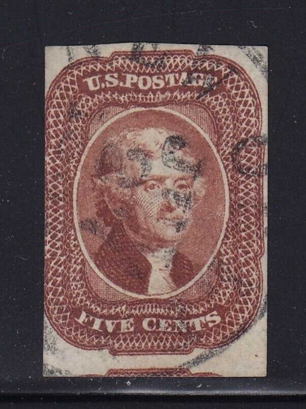 12 F-VF used neat cancel with nice color cv $ 700 ! see pic !